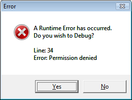 What is a Runtime Error?