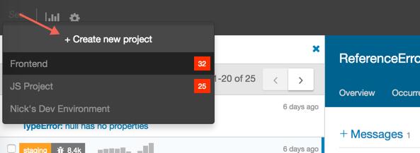 create-project-dropdown