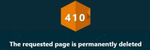 410 Gone